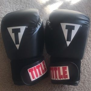 Accessories - Title boxing gloves Large